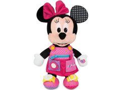 Clementoni Plyšový Minnie s kapsami