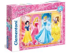 Clementoni Princess Supercolor Maxi Puzzle 24d