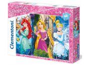 Clementoni Princess Supercolor Puzzle Maxi 60d