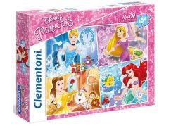 Clementoni Princezny Supercolor Puzzle Maxi 104d