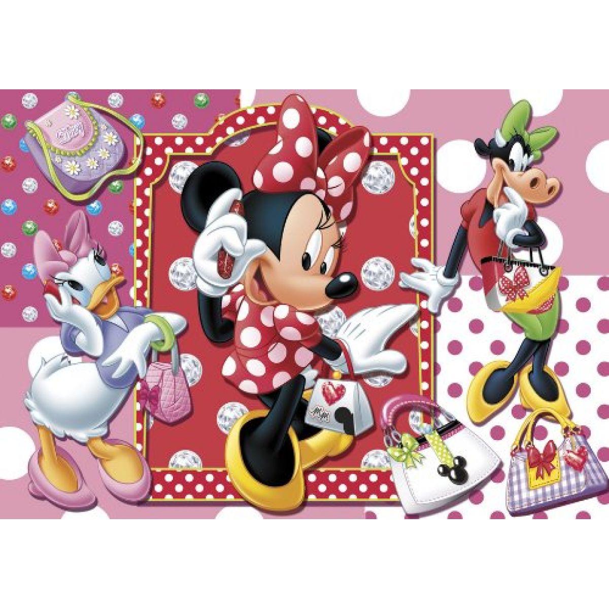 Clementoni Puzzle - Minnie parádnice 104 dílků