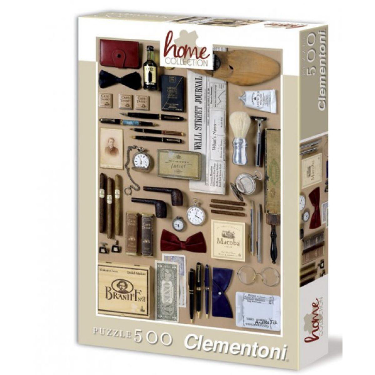 Clementoni Puzzle 500 dílků, Gentlemen