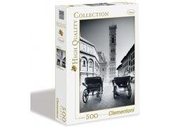 Clementoni Puzzle 500 dílků, Kočáry