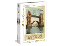 Clementoni Puzzle 500 dílků, Londýn pohlednice
