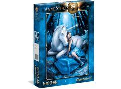 Clementoni Puzzle Anne Stokes 1000 dílků Modrý měsíc