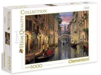 Clementoni Puzzle Benátky 6000d