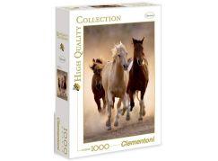 Clementoni Puzzle Běžící koně 1000d