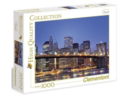 Clementoni Puzzle Brooklyn 1000d