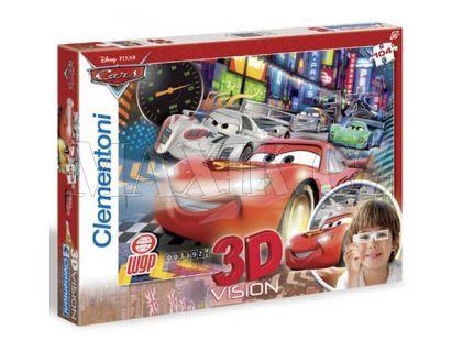 Clementoni Puzzle Cars 3D Vision 104d
