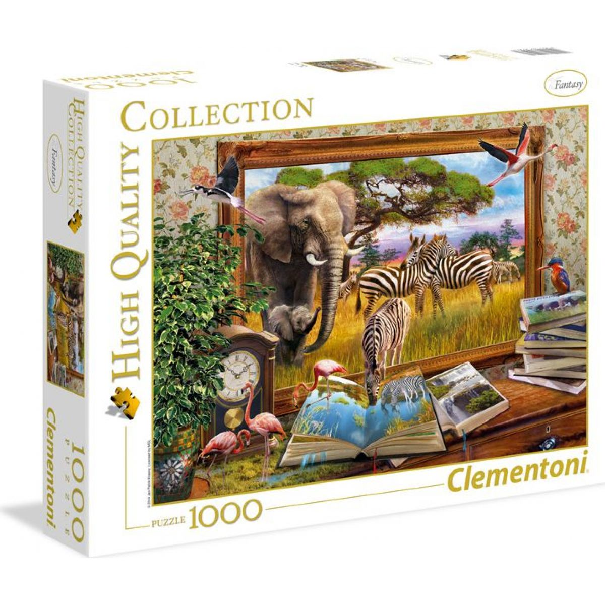 Clementoni Puzzle Come to life 1000d