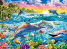 Clementoni Puzzle Delfíni 500d 2