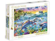 Clementoni Puzzle Delfíni 500d