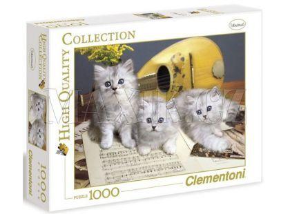 Clementoni Puzzle Koťata 1000d