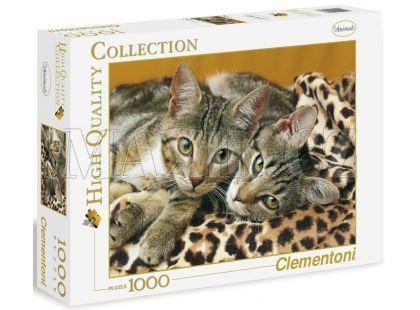 Clementoni Puzzle Koťata mourovatá 1000d