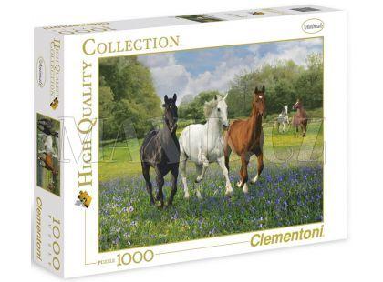 Clementoni Puzzle Koně 1000d