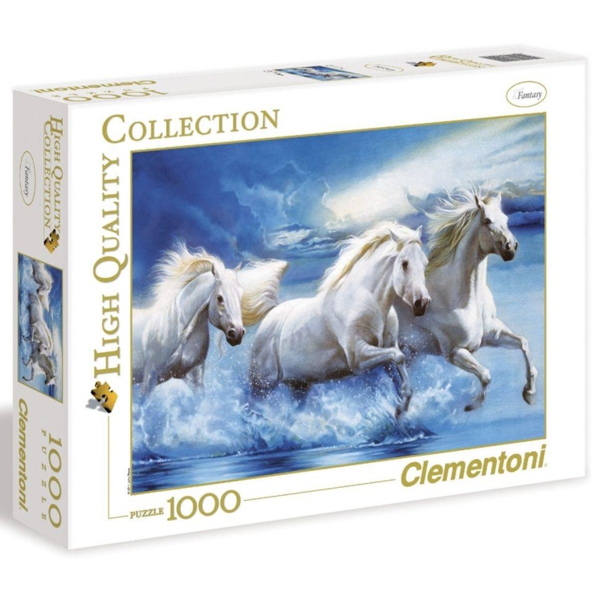 Clementoni Puzzle Koně ve vodě 1000d