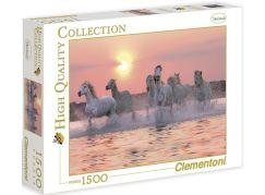 Clementoni Puzzle Koně ve vodě 1500 dílků