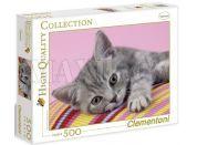 Clementoni Puzzle Kotě 500d