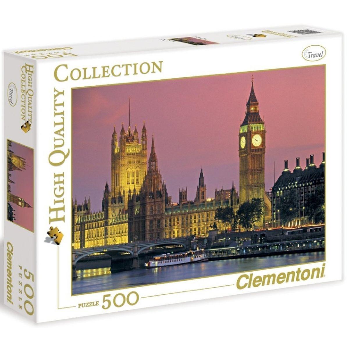 Clementoni Puzzle Londýn 500d