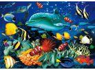 Clementoni Puzzle Magic 3D Delfín 1000d 2