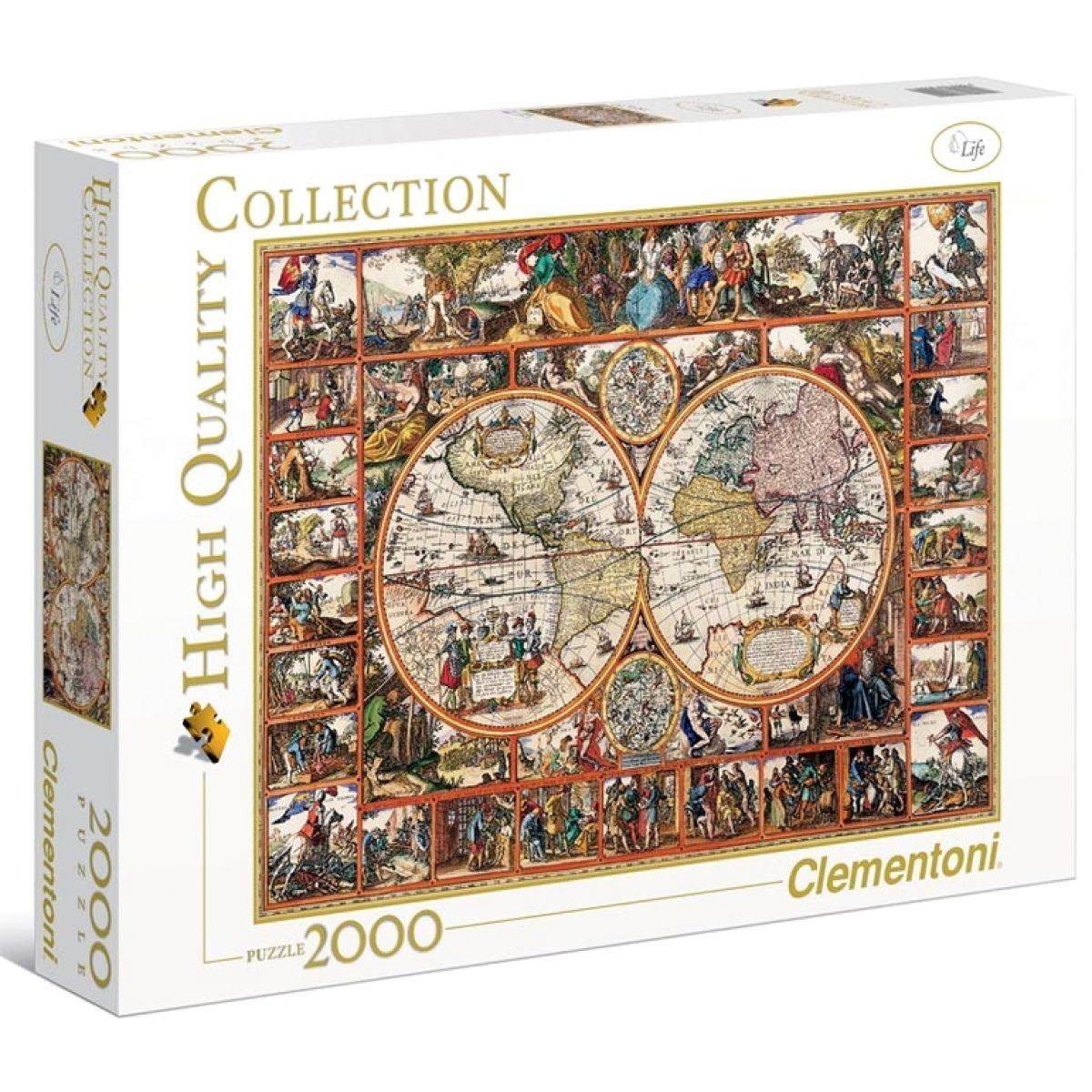 Clementoni Puzzle Mapa 2000d