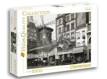 Clementoni Puzzle Moulin Rouge Cinema 1000d