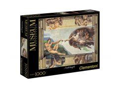 Clementoni Puzzle Museum 1000 dílků, Michelangelo Stvoření Adama