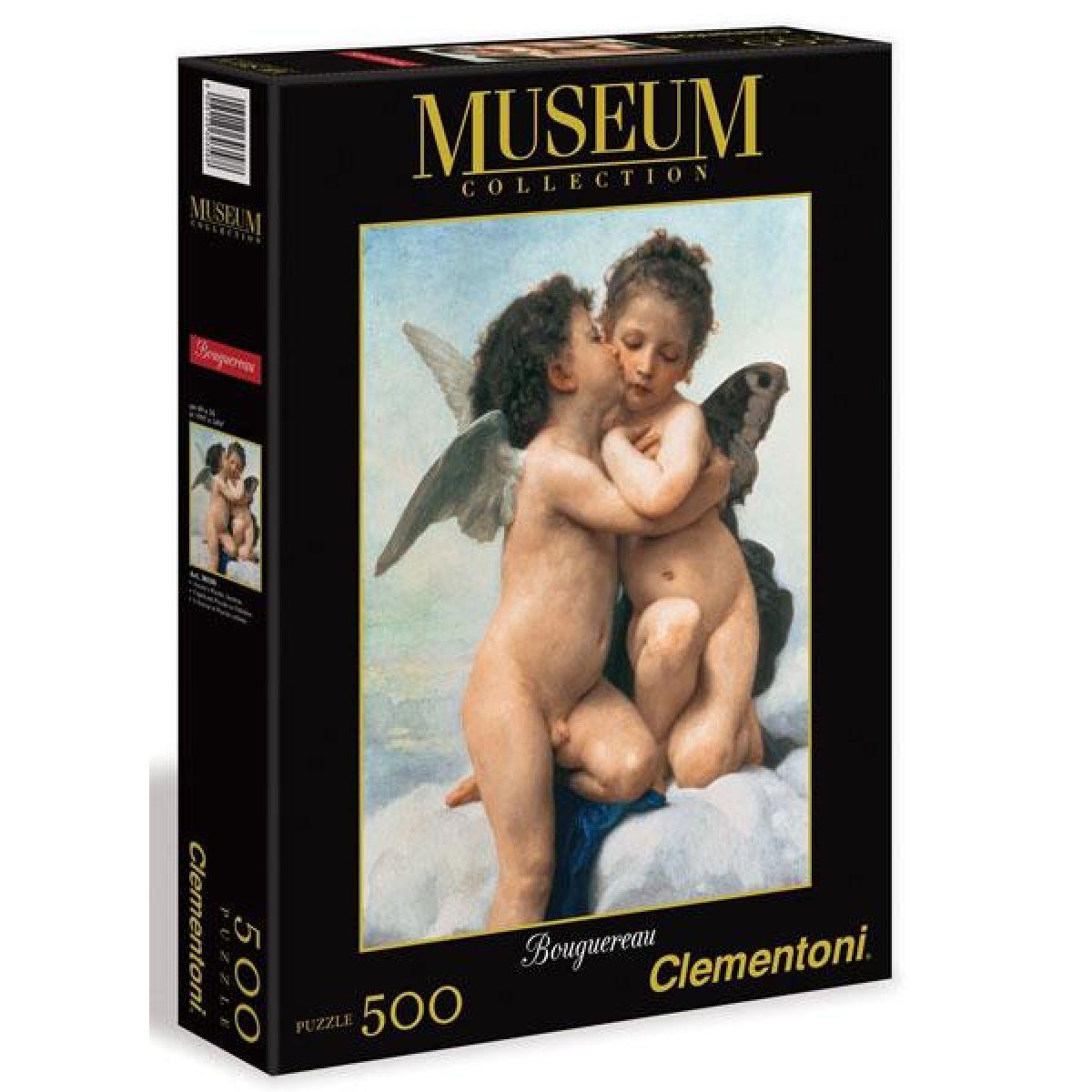 Clementoni Puzzle Museum 500 dílků, Amor a Psiche