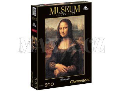 Clementoni Puzzle Museum Mona Lisa 500 dílků