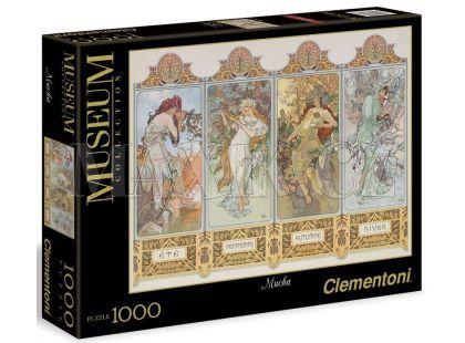 Clementoni Puzzle Museum Mucha 1000 dílků