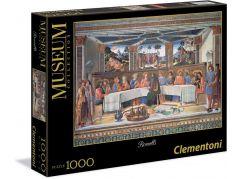 Clementoni Puzzle Museum Rosselli L'ultima cena 1000d