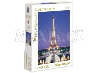 Clementoni Puzzle Paříž 1000d