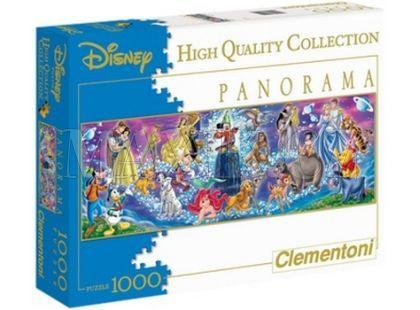 Clementoni Puzzle Panorama Disney rodina 1000d