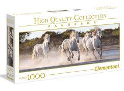 Clementoni Puzzle Panorama Koně 1000 dílků