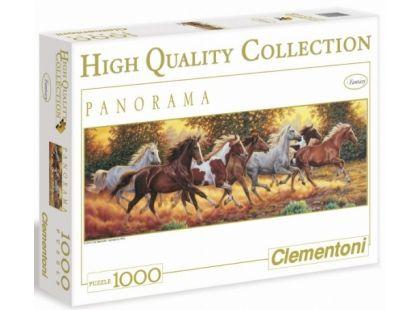Clementoni Puzzle Panorama Koně 1000d