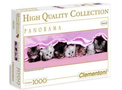 Clementoni Puzzle Panorama Koťata 1000d