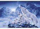 Clementoni Puzzle Rodina vlků 1000d 2