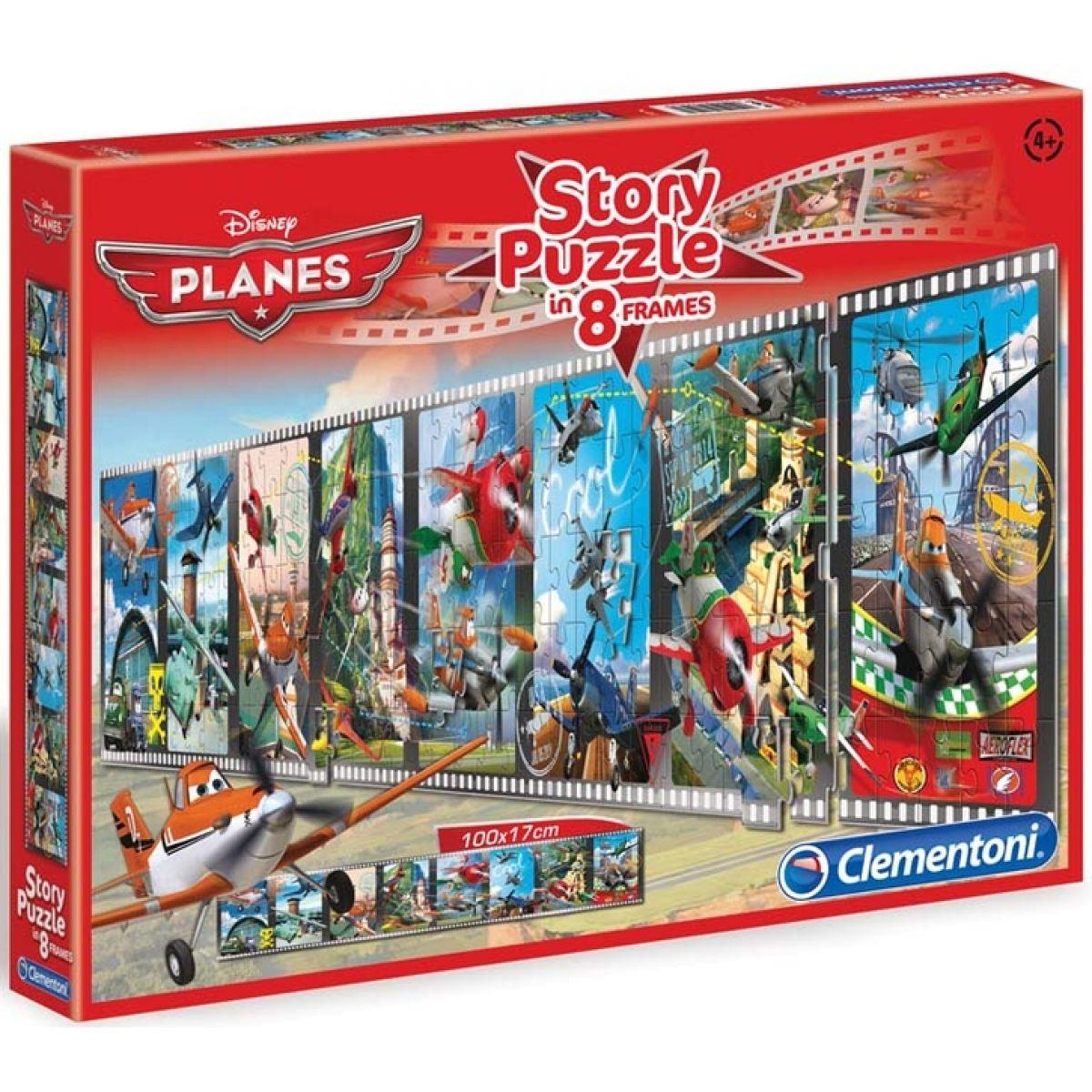 Clementoni Puzzle Story Letadla 200d