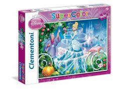 Clementoni Puzzle Supercolor 2 x 20 dílků, Popelka
