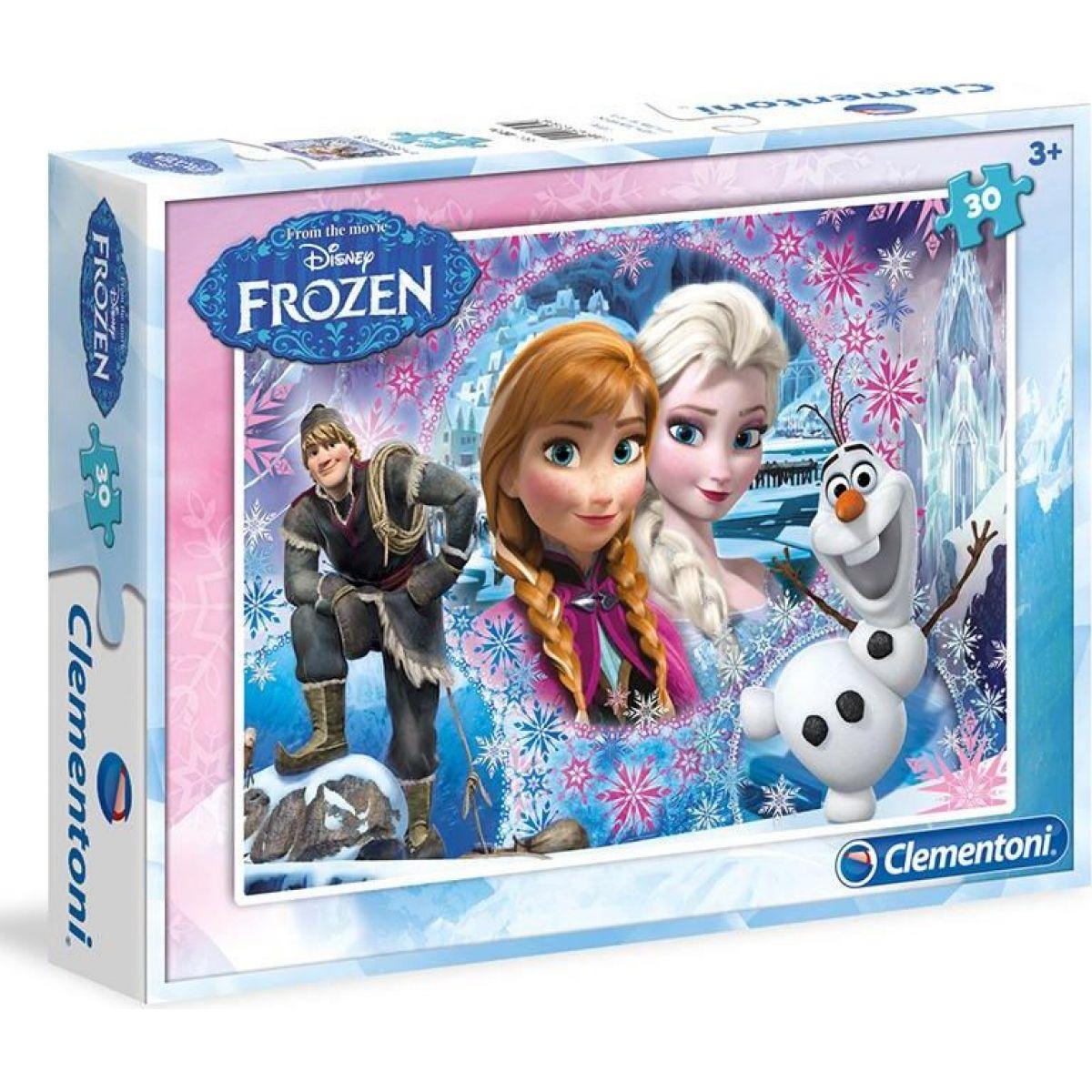 Clementoni Puzzle Supercolor 30 dílků Frozen