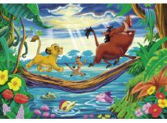 Clementoni Puzzle Supercolor 40 dílků, Lví král