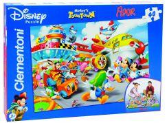 Clementoni Puzzle Supercolor 40 dílků, Mickey