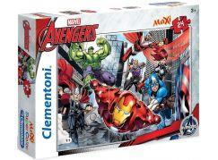 Clementoni Puzzle Supercolor Avengers  Maxi 24 dílků