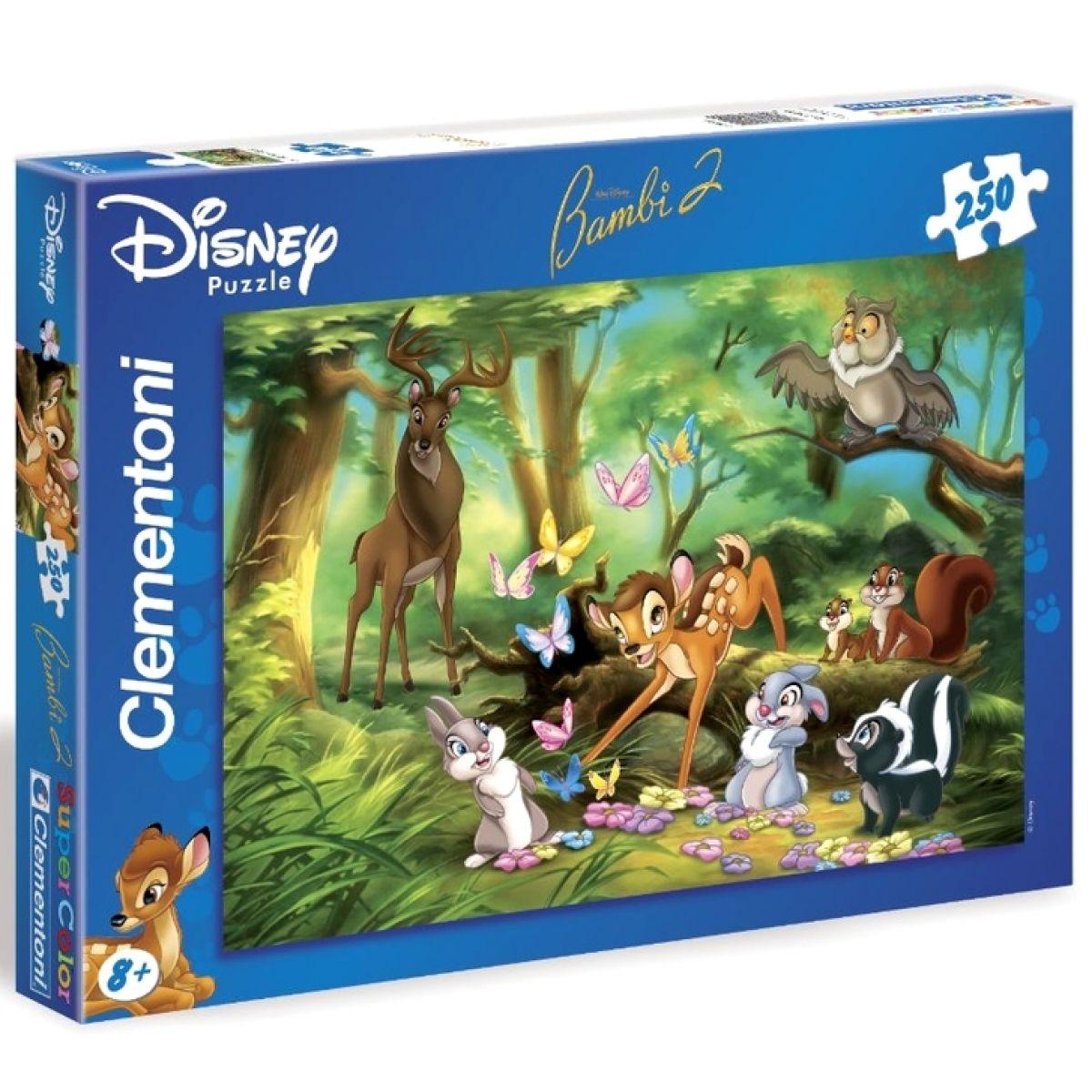 Clementoni Puzzle Supercolor Bambi 250d