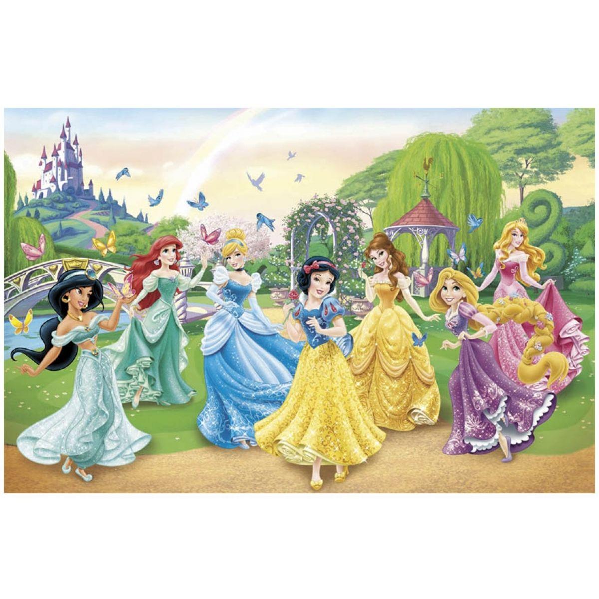 Clementoni Puzzle Supercolor Disney Tančící princezny 104d