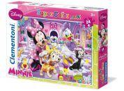 Clementoni Puzzle Supercolor Maxi Minnie 24 dílků