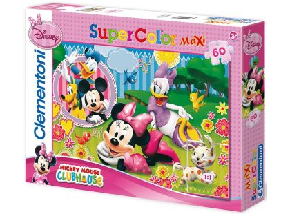 Clementoni Puzzle Supercolor Maxi Minnie a friends 60d
