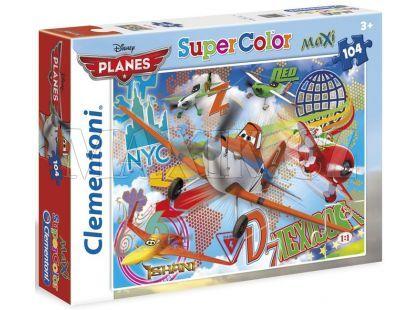 Clementoni Puzzle Supercolor Maxi Planes 104d