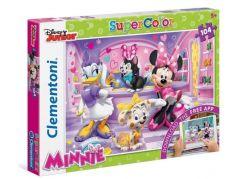 Clementoni Puzzle Supercolor Minnie 104 dílků