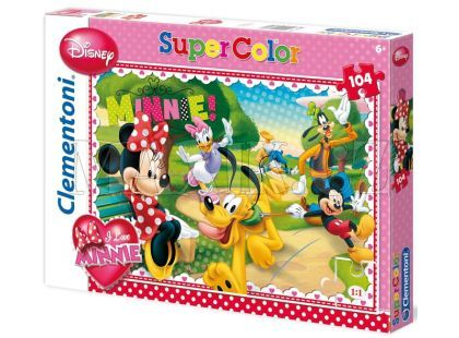 Clementoni Puzzle Supercolor Minnie 104d